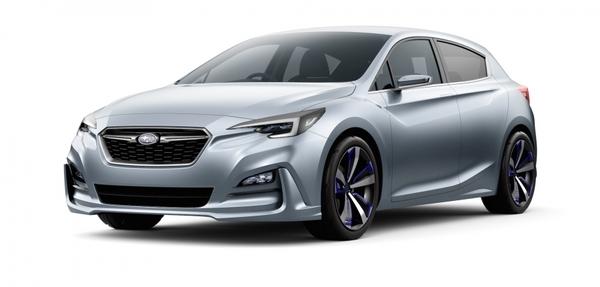Subaru Impreza 5 - door Concept