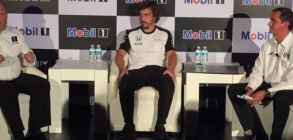 Alonso: McLaren competirá en 2016