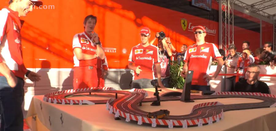 Video: Kimi vs Vettel