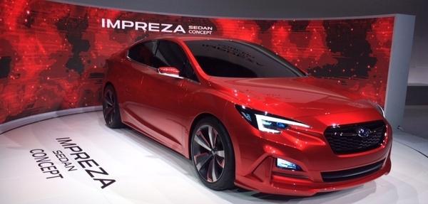 Adelanto: Subaru Impreza Sedan Concept
