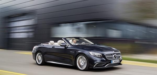 Mercedes-AMG S 65 Cabriolet: nuevo auto insignia