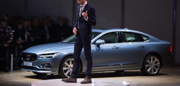 Lanzamiento: Volvo S90