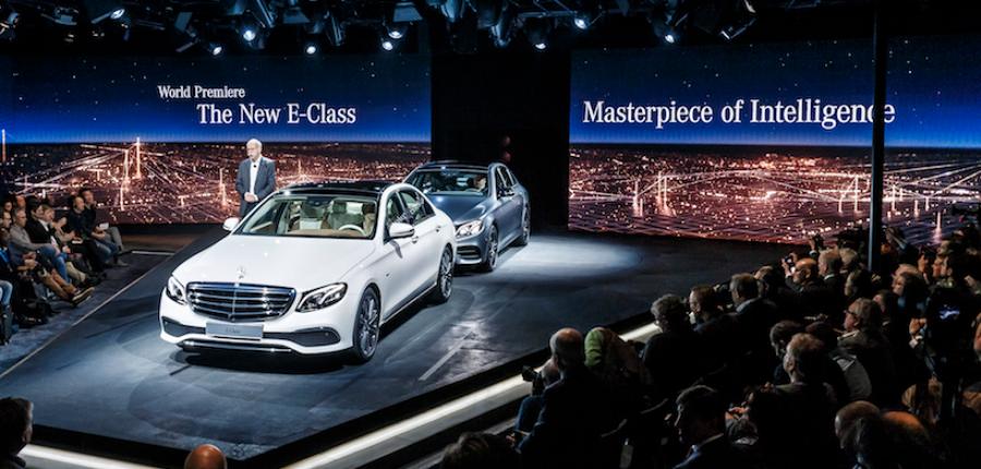 Nueva Clase E de Mercedes-Benz