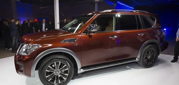 Nueva Nissan Armada 2017 en el Auto Show de Chicago