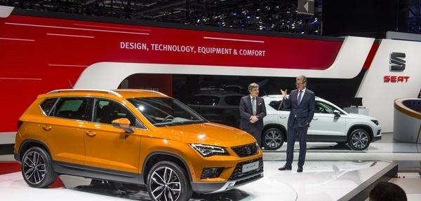 Nuevo SEAT Ateca en el Auto Show de Ginebra 2016
