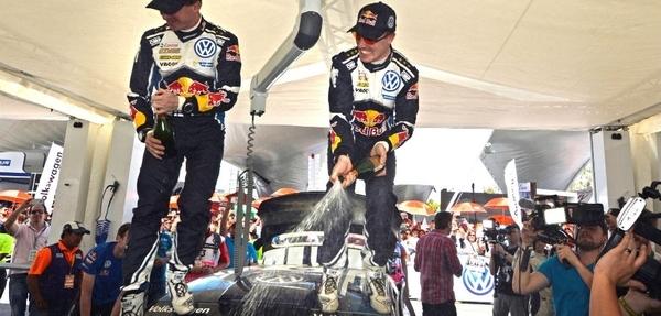 Latvala vencedor del Campeonato Mundial de Rally