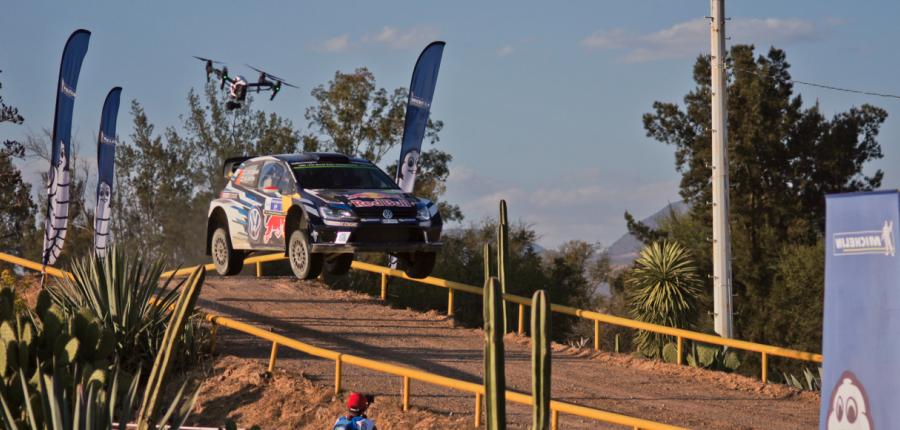 Extraordinario evento de la WRC en Guanajuato