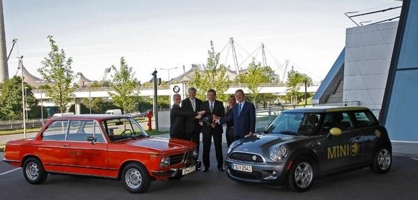 BMW cumple 40 años de electro-movilidad