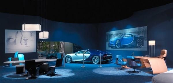 Bugatti lanza colección de muebles