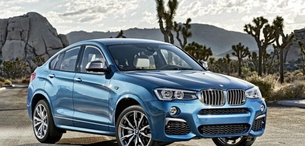 Llega a distribuidores mexicanos el BMW X4 M40iA