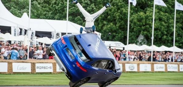Jaguar F-Pace deslumbra en GoodWood