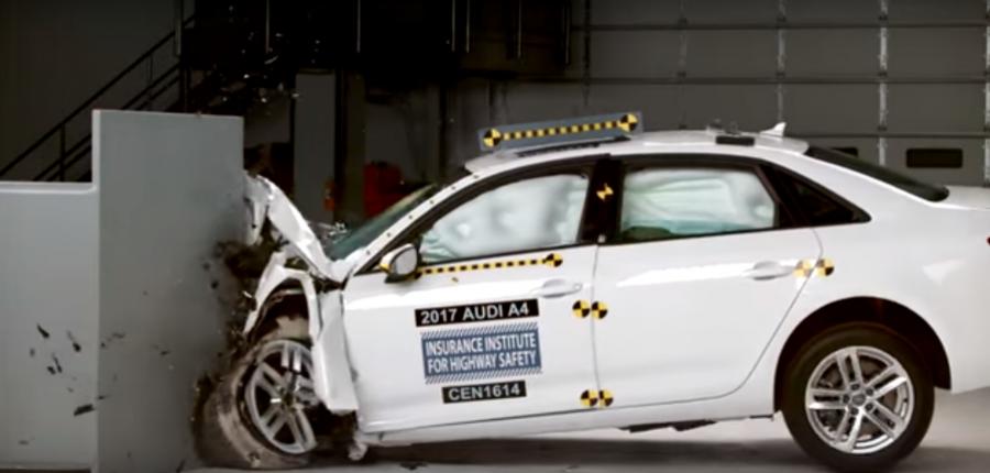 Video: Pruebas de seguridad en Audi A4 2017