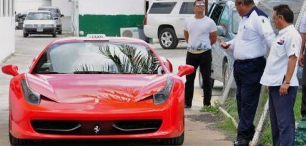 ¡Cancún prepara servicio de taxi de súper lujo, con Ferraris y Mercedes!