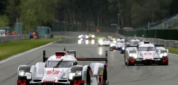 Sigue a los pilotos Audi durante el WEC