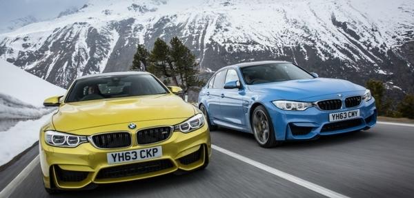 Conoce el M3 sedán y M4 coupé de BMW