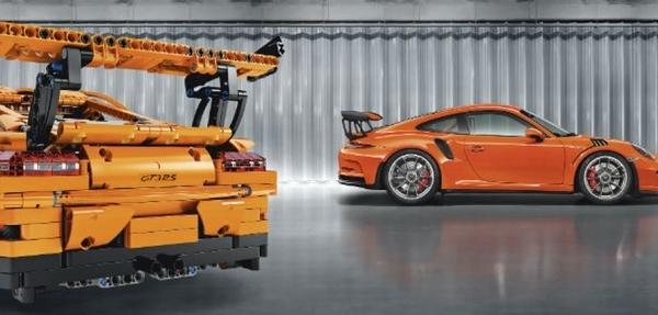 Porsche en Lego, ideal para Navidad
