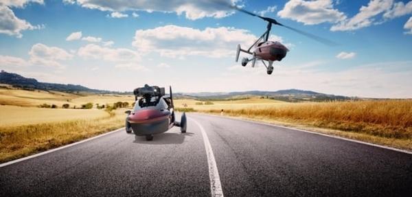 PAL-V inicia venta de autos voladores
