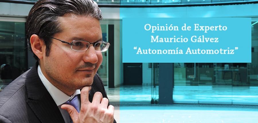 Video Opinión de Experto:  Mauricio Gálvez RP VW de México habla sobre la autonomía automotriz