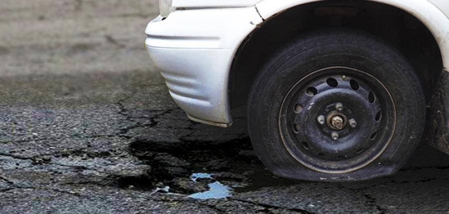 Consejos para no dañar tu auto en los baches