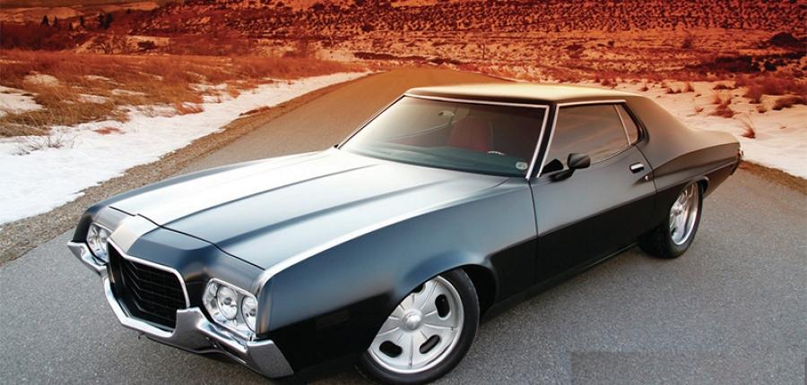 Ford Gran Torino el sedán deportivo, favorito de  Clint Eastwood