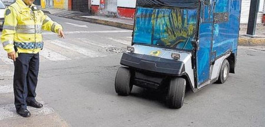¿Golfitaxis? Se suman a la clandestinidad urbana en la Delegación Tláhuac