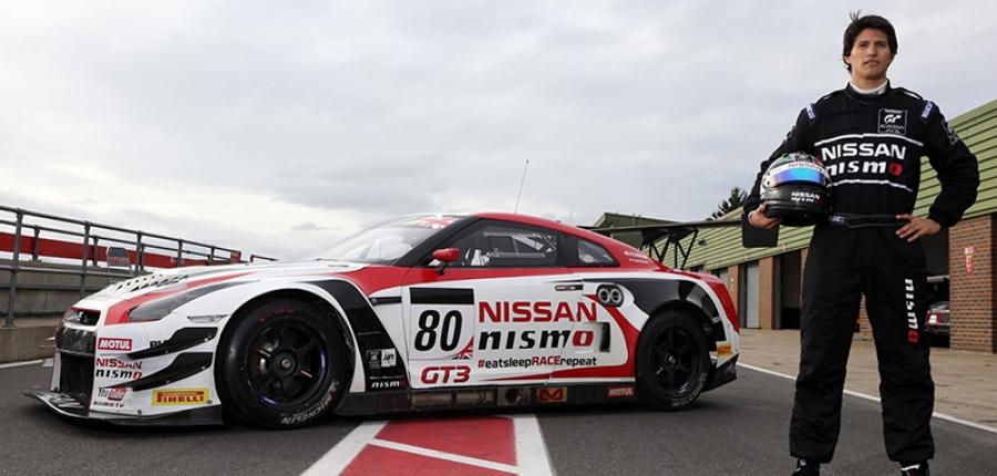 El mexicano Ricardo Sánchez piloto NISMO, listo para Pirelli World Challenge