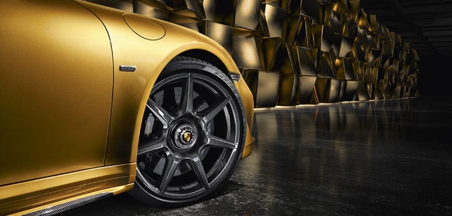 Vídeo: ¡Impactante! Conoce los nuevos rines de Porsche 911 Turbo S Exclusive Series