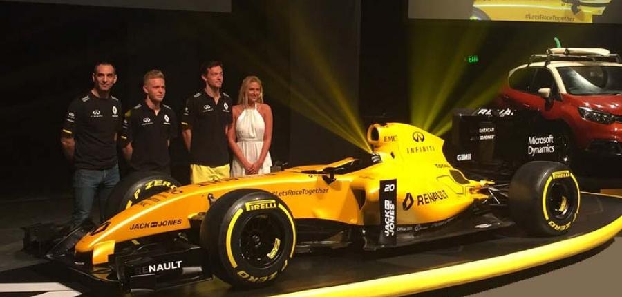 ¿Quieres manejar un vehículo biplaza del equipo Renault Sport Fórmula Uno™?