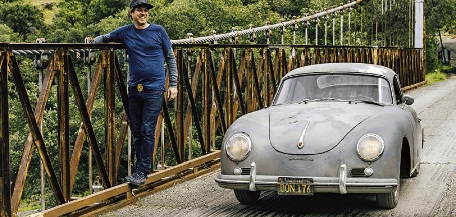 Conoce la historia del coleccionista de los Porsche oxidados