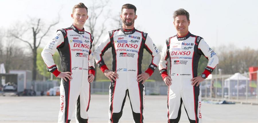 Toyota México le da bienvenida a los pilotos que correrán las 6 Horas de México