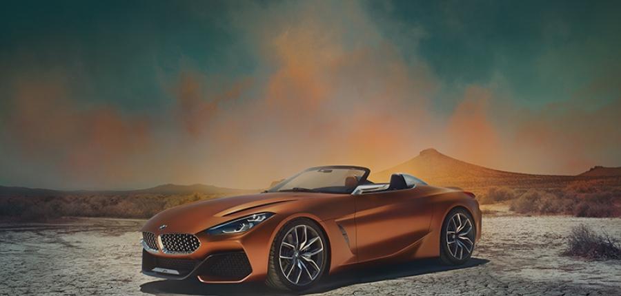 Conoce el El BMW Concept Z4