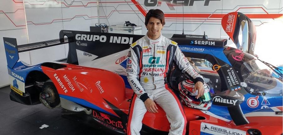 Ricardo Sánchez, piloto NISMO mexicano, se prepara para participar en las 4 Horas de Portugal