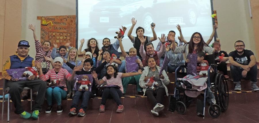 KIA Motors México y Casa de la Amistad para niños con Cáncer, I.A.P. se unieron