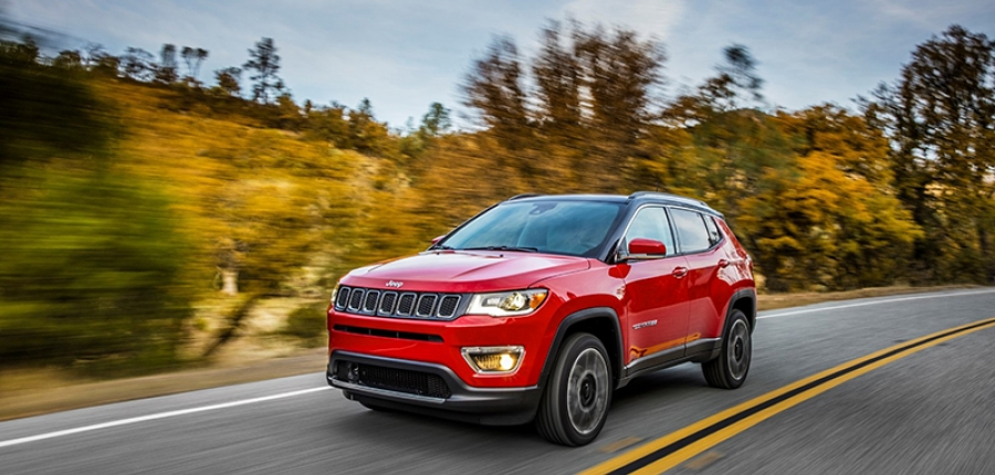 El totalmente nuevo Jeep® Compass nombrado Top Safety Pick 2017 por el IHSS