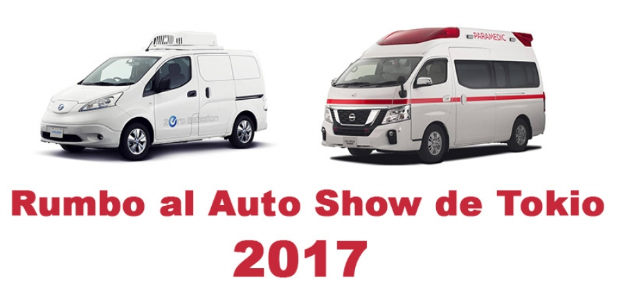 Conoce Nissan Paramedic Concept y e-NV200 Fridge Concept