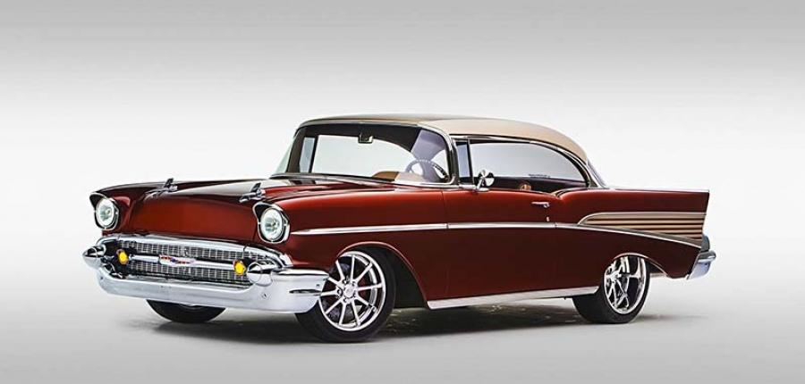 La increíble historia  del Chevy 1957 que resucitó después de 30 años