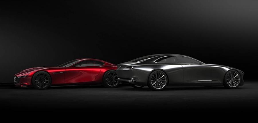 ¿Has visto el Mazda Vision Coupe?