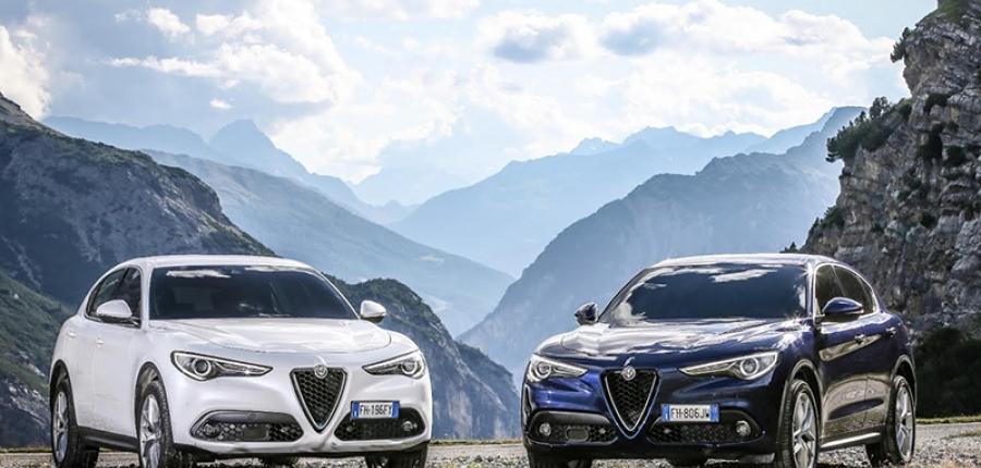 """Quattroruote reconoce a Alfa Romeo Stelvio  como  """"Novedad del Año 2018"""""""