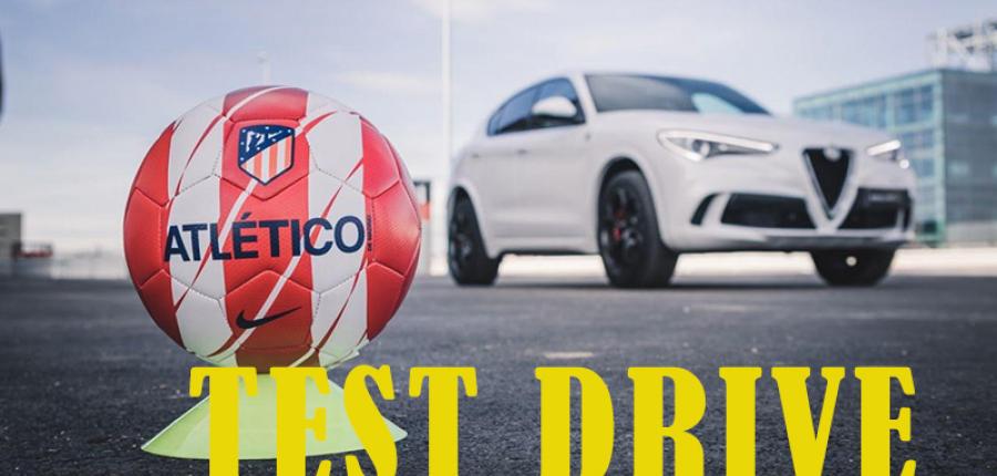 Test Drive: Jugadores del Atlético de Madrid prueban el nuevo Alfa Romeo Stelvio