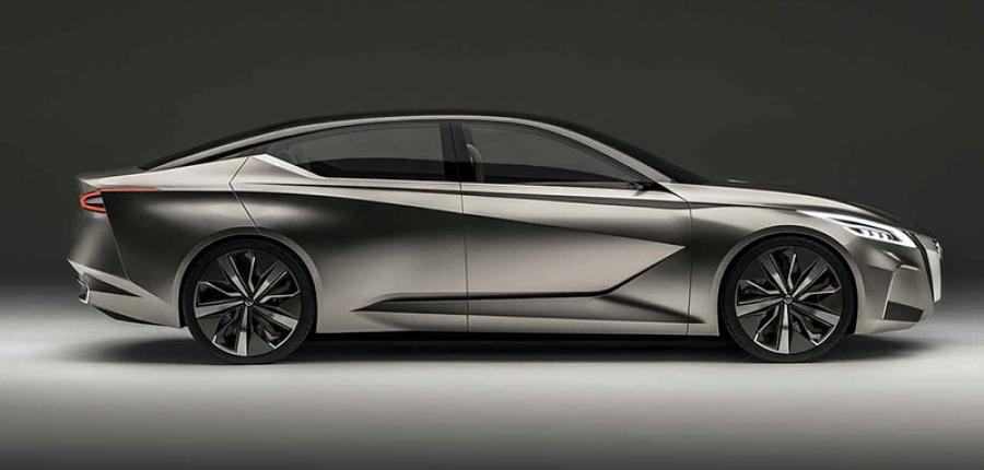 Galería: Primeras imágenes del totalmente nuevo Nissan Altima 2019