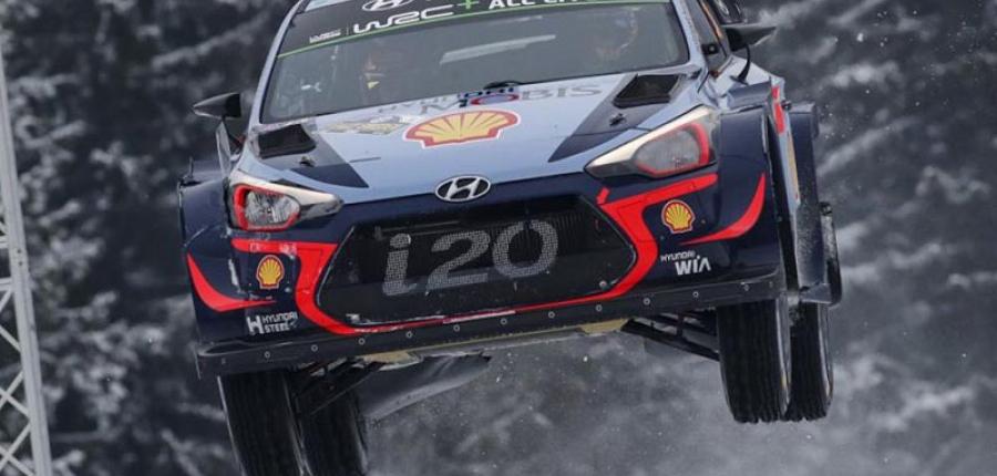 Hyundai Motorsport logra su primer victoria en el rally de Suecia