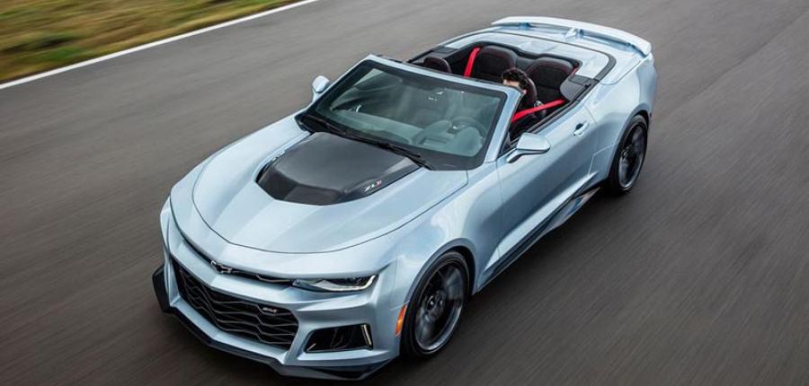 Camaro ZL1 Convertible : El American Muscle Car por excelencia