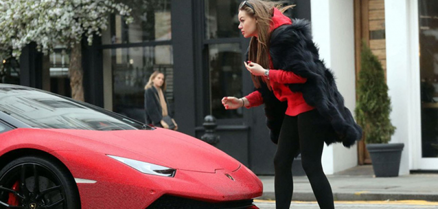 Lamborghini se viste de Swarovski