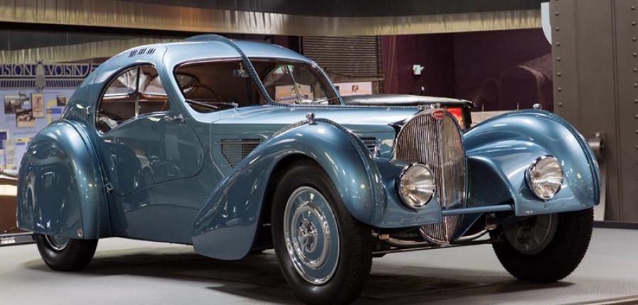 ¿Conoces el Bugatti Type 57 SC Atlantic 1936?