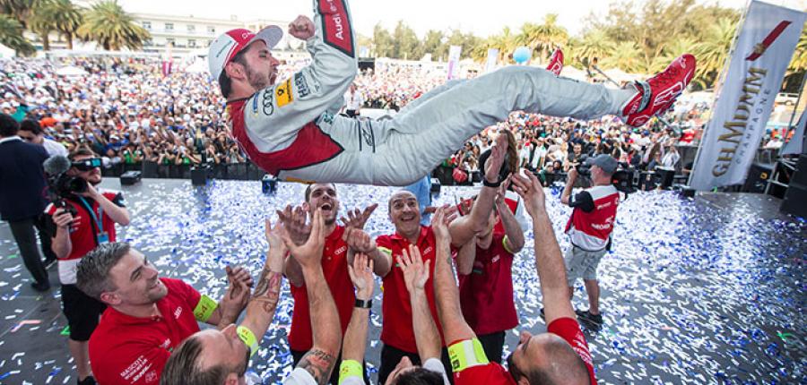 Imponente victoria de Audi en la carrera de Fórmula E de México