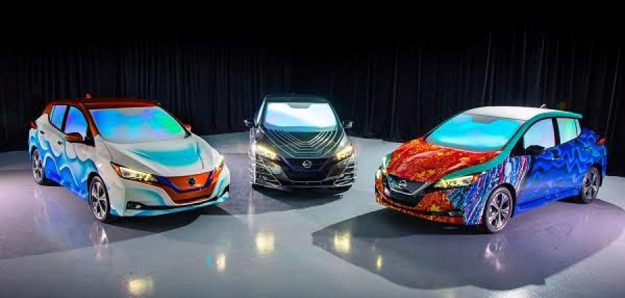 """3 modelos con los que Nissan LEAF  electrifica la premier de """"Un Viaje en el Tiempo"""""""