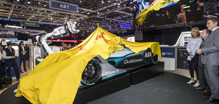 Revelan el auto de la nueva generación de la Fórmula E en Ginebra