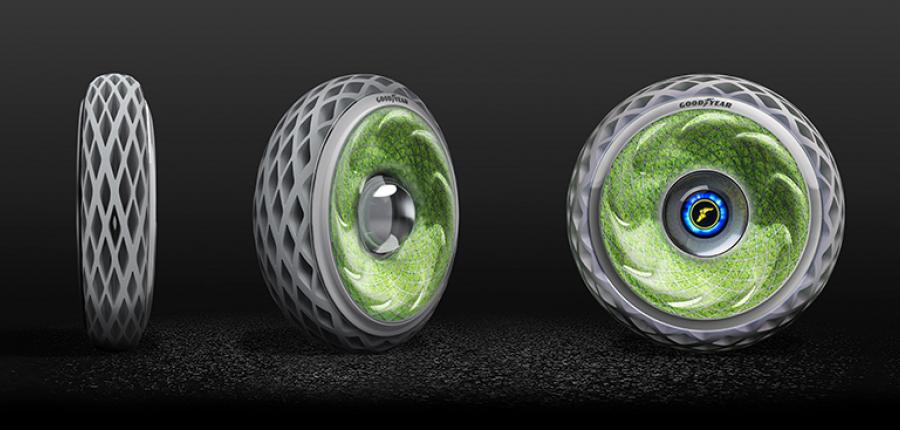 Ya conoces el El prototipo de neumático llamado Oxygene