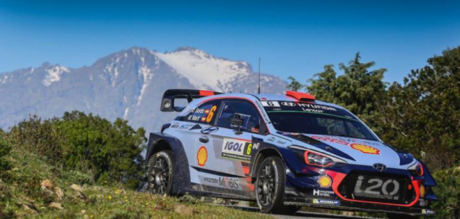 Hyundai Motorsport suma otro pódium en el Rally de Córcega