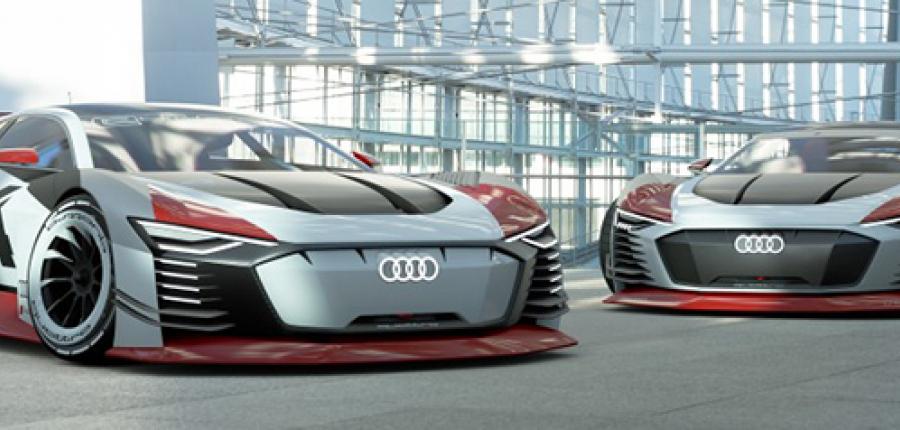 Conoce Audi e-tron Vision Gran Turismo